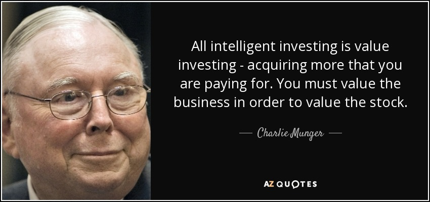 Value Investing - Charlie Munger