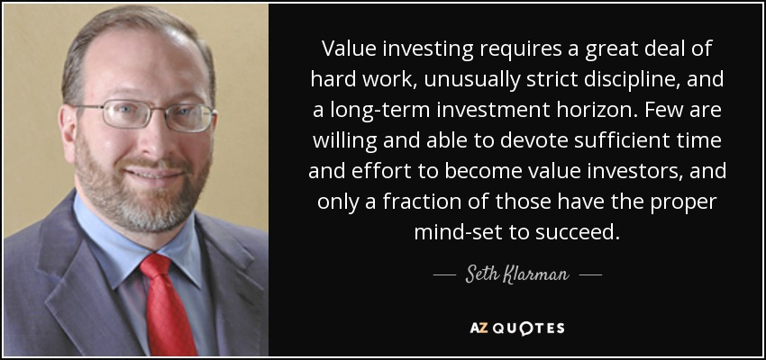 Value Investing - Seth Klarman